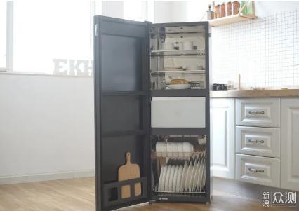 美的消毒柜ZIP150C01外观尺寸与功能测评